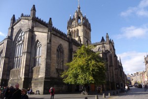 St Giles Cathedral on the Royal Mile