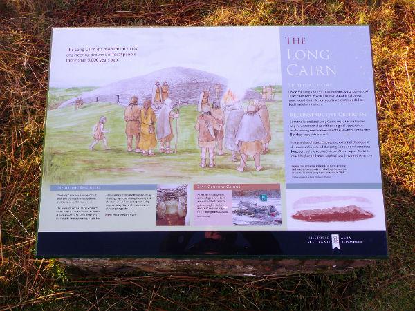 Caithness historic burial cairns