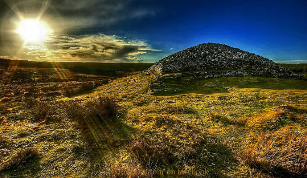 Camster cairns Caithness Scotland