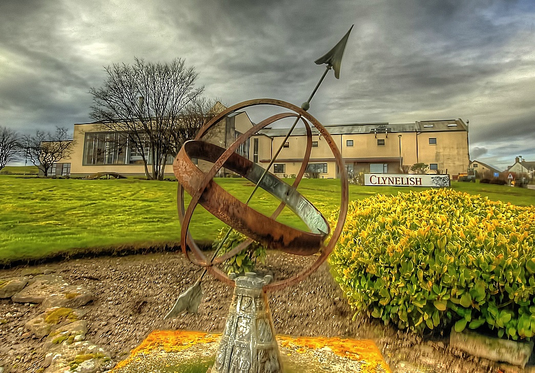 Clynelish distillery in Brora Scotland
