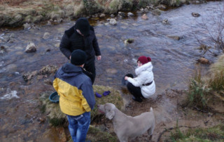 panning for gold in Scotland