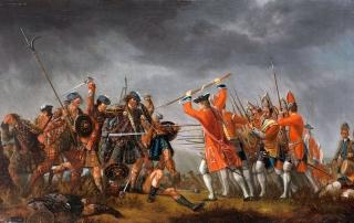 Culloden battle