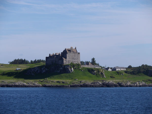 Duart Castle, the Clan MacLean castle. Isle of Mull.