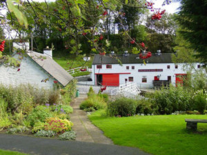 Possibly the prettiest in Scotland, Edradour Distillery