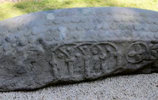 Hogback Viking stone found near Loch Lomond