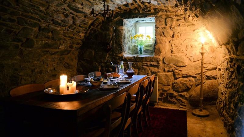 Inside Kilmartin Castle 1