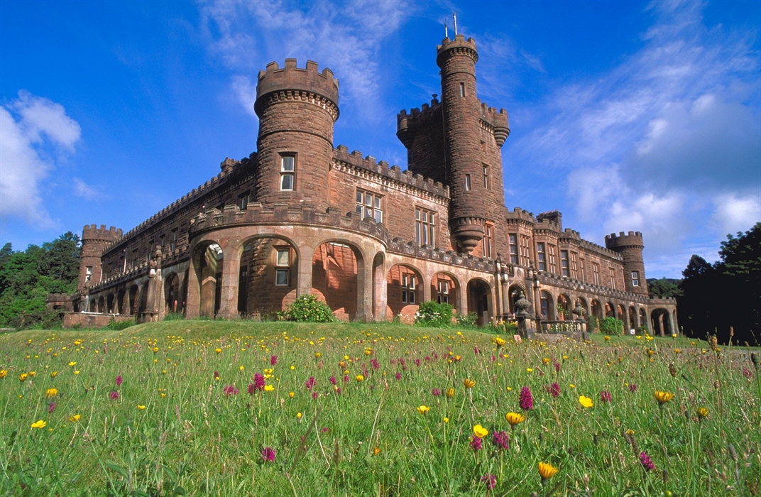 Kinloch castle Isle of Rum