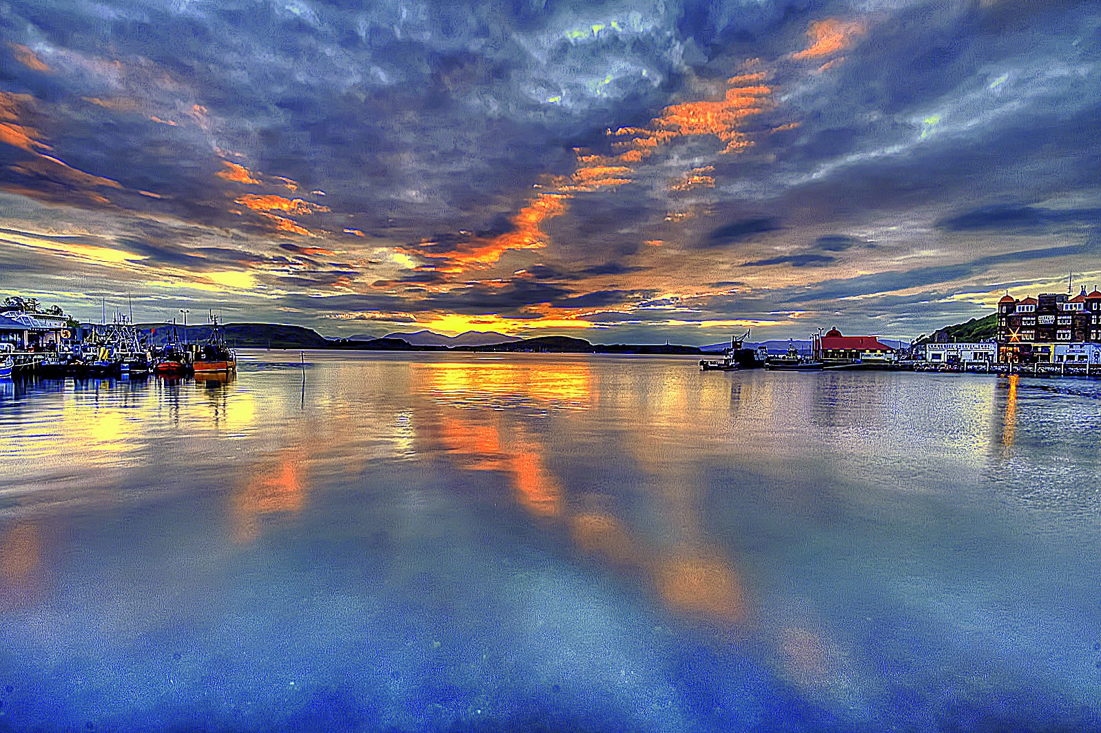 Oban sunset