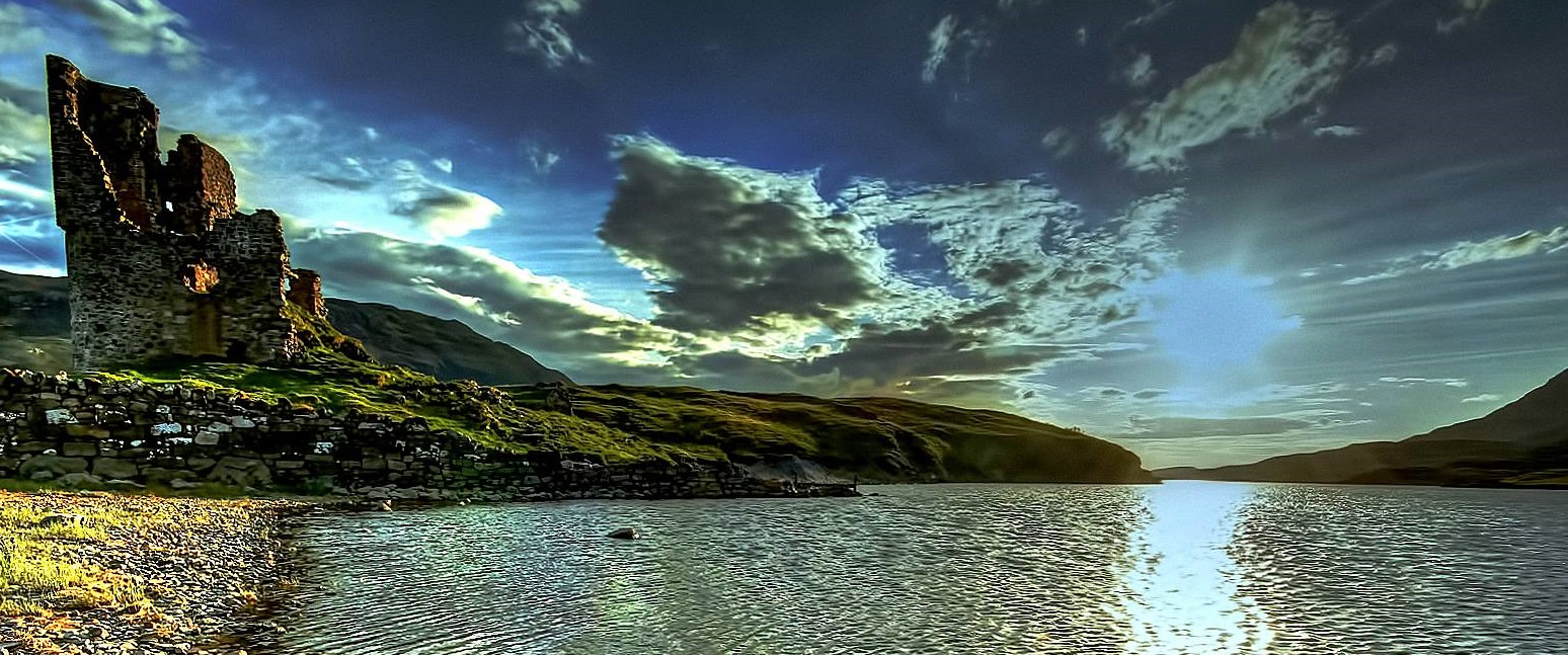 ardvreck - castle - on - Scotlands - west -coast