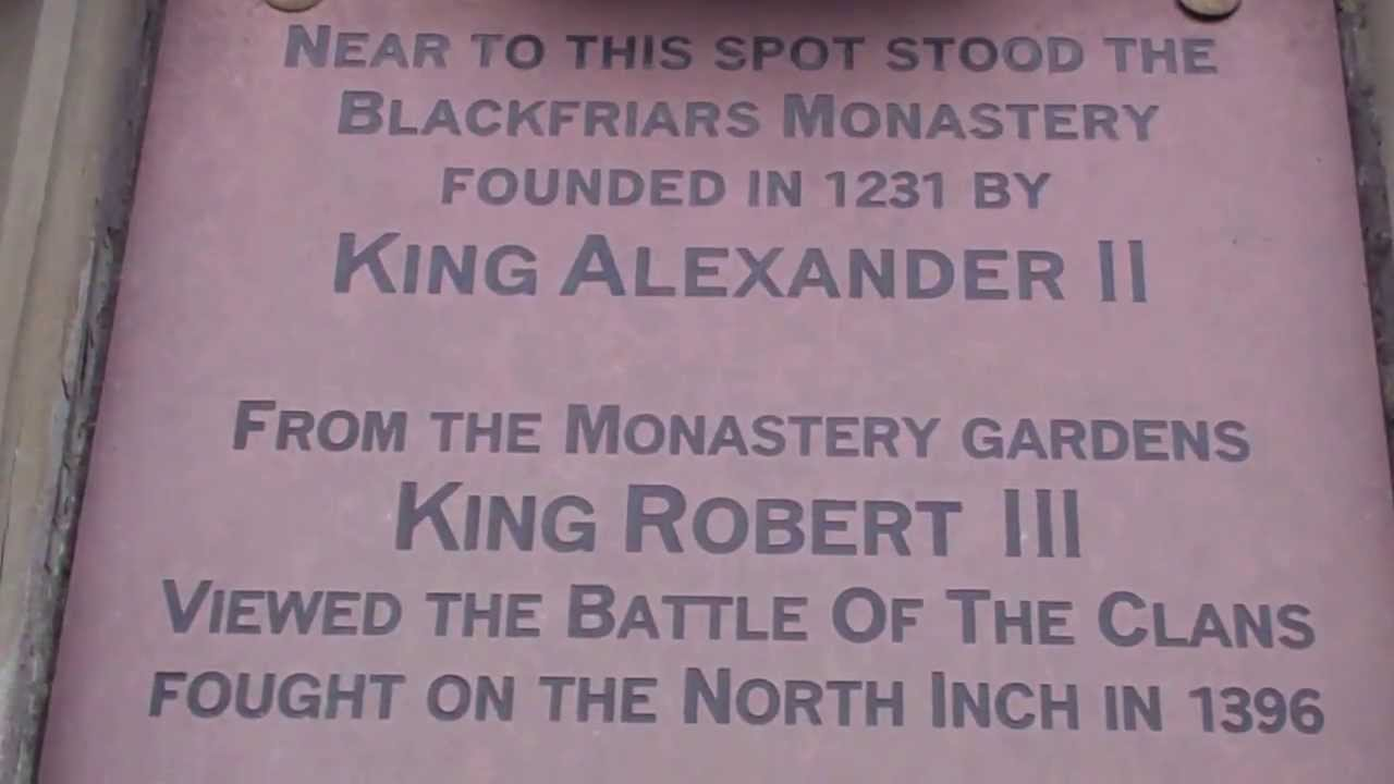 battle of the clans Perth stone