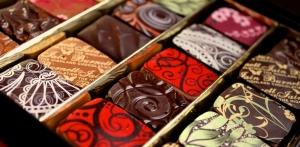 chocolates by iain burnett on mcleanscotland whisky tour