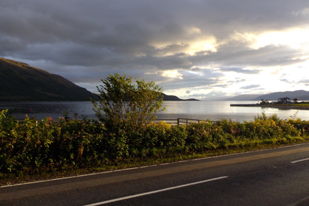 Scottish lochs and glens on a driver guided tour