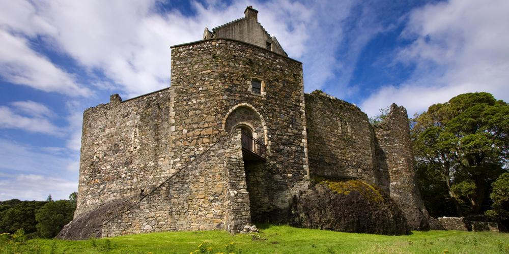 West coast tales – Scotland, Dunstaffnage Castle