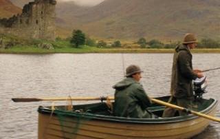 fishing on loch awe