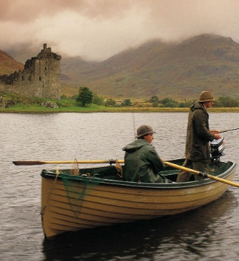 fishing on loch awe