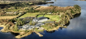 harvey's Point hotel complex on Lough Eske Donegal Ireland