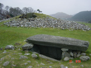 Ancient graves at Kilmartin Glen, on the west of Scotland