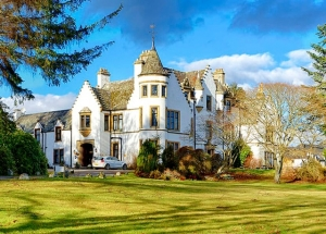 kincraig castle in the scottish highlands
