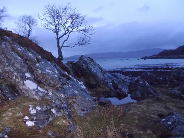 near Arisaig in Scotland a great driving tour