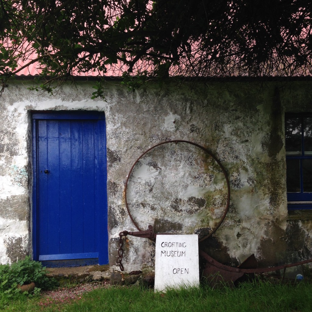the crofting museum on Eigg