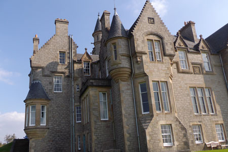 Glengorm Castle - your scottish castle - home for your time here