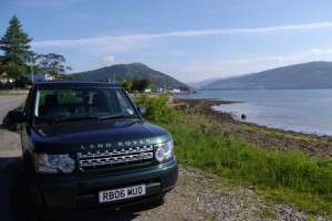 A loch in Scotland, one of many you will see on your driver guided tour of Scotland