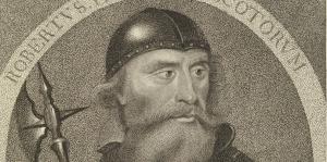 Born in 1274 in Ayr, the son of Robert Bruce