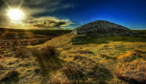 Camster cairns Caithness Scotland