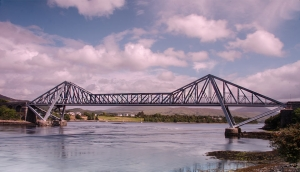 Connel Bridge at Connel, Scotlnads west coast and paul's birthplace