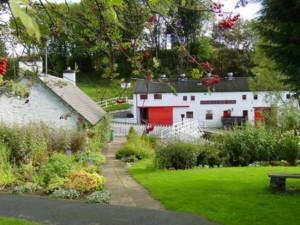 Possibly the prettiest in Scotland, Edradour Distillery