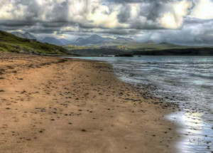 Gairloch water and sand on Scotlands 500 road route
