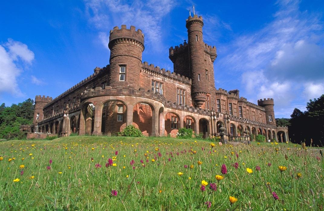 Kinloch castle Isle of Rum