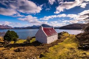 Loch Sheildaig Scottish Highlands. Ally DEans took this image