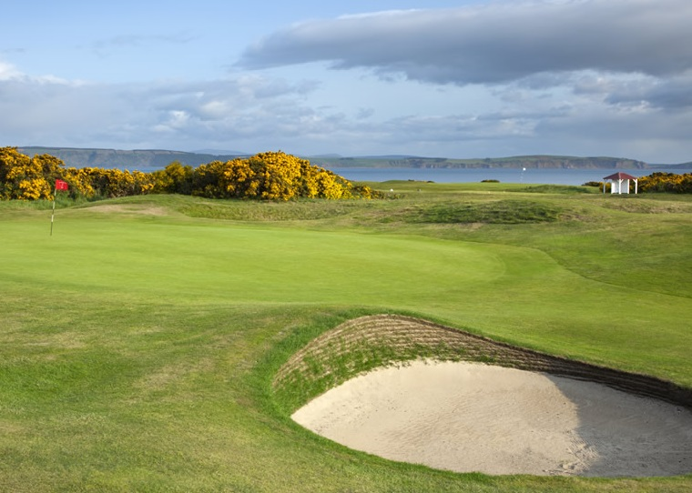 Nairn golf club Scotland
