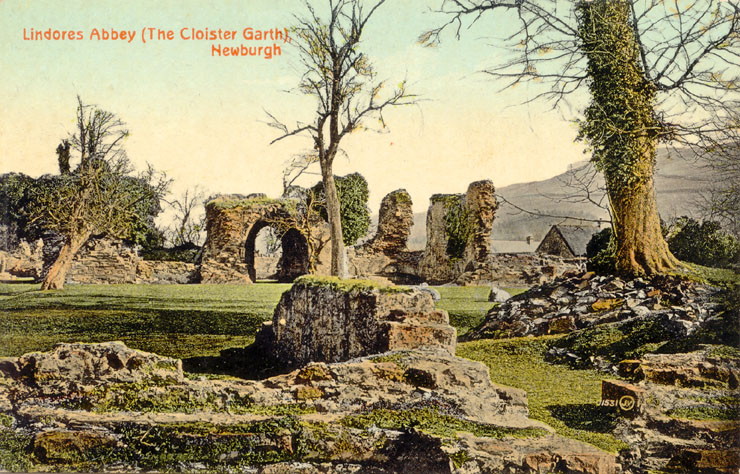 Postcard of Lindores Abbey