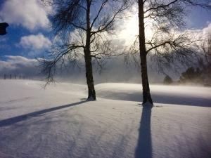 SCOTTISH SCENERY IN THE SNOW