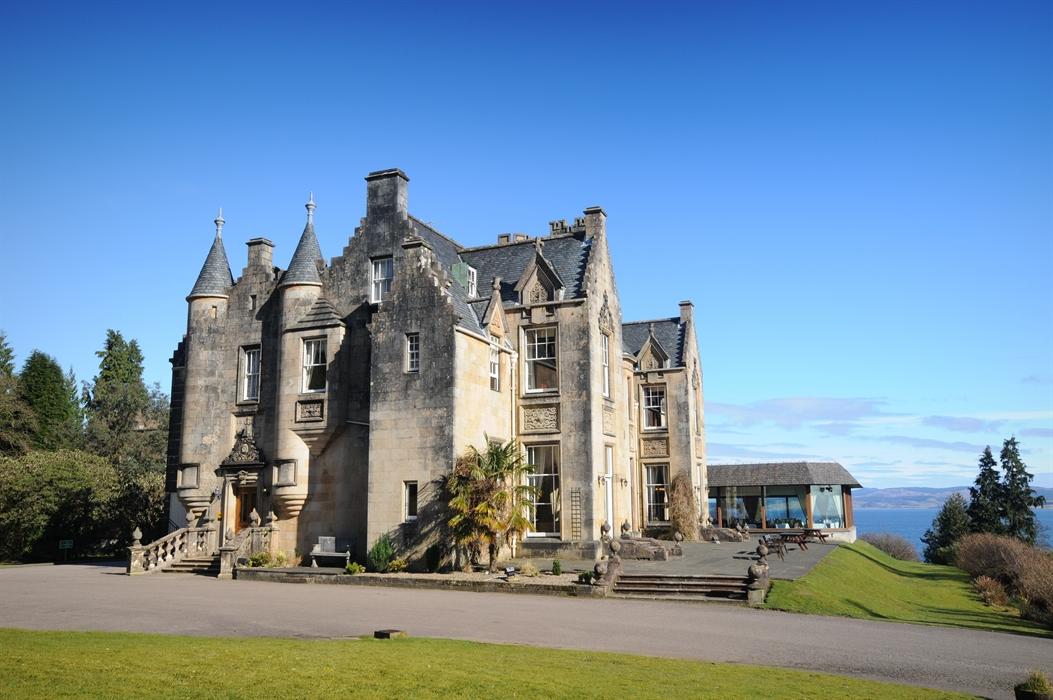 Stonefield castle on loch fynne scotland