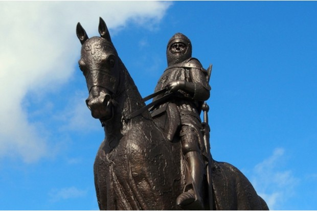 The Bruce statue at Stirling