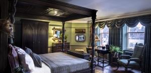 bedroom in fife arms hotel
