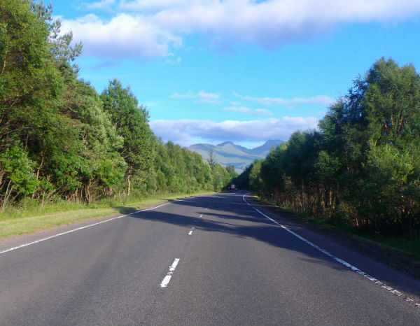 empty roads leading to the west coast