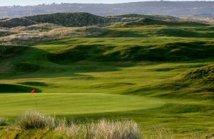 hole seven on the Donegal Golf Club course Ireland