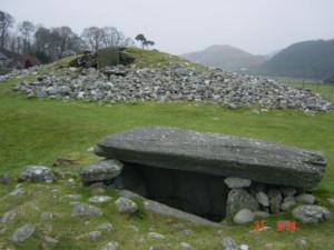 The gravestones at Kilmartin Glen, Scotland's west coast