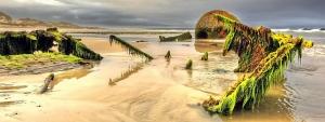 the Jean Stephen ran aground 1950 Scotlands east coast