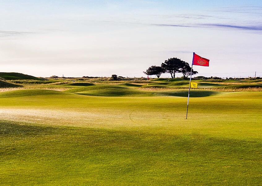 the Royal Dublin Golf Club in Ireland