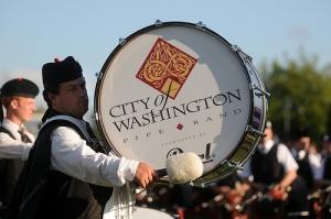 city of washington pipe band